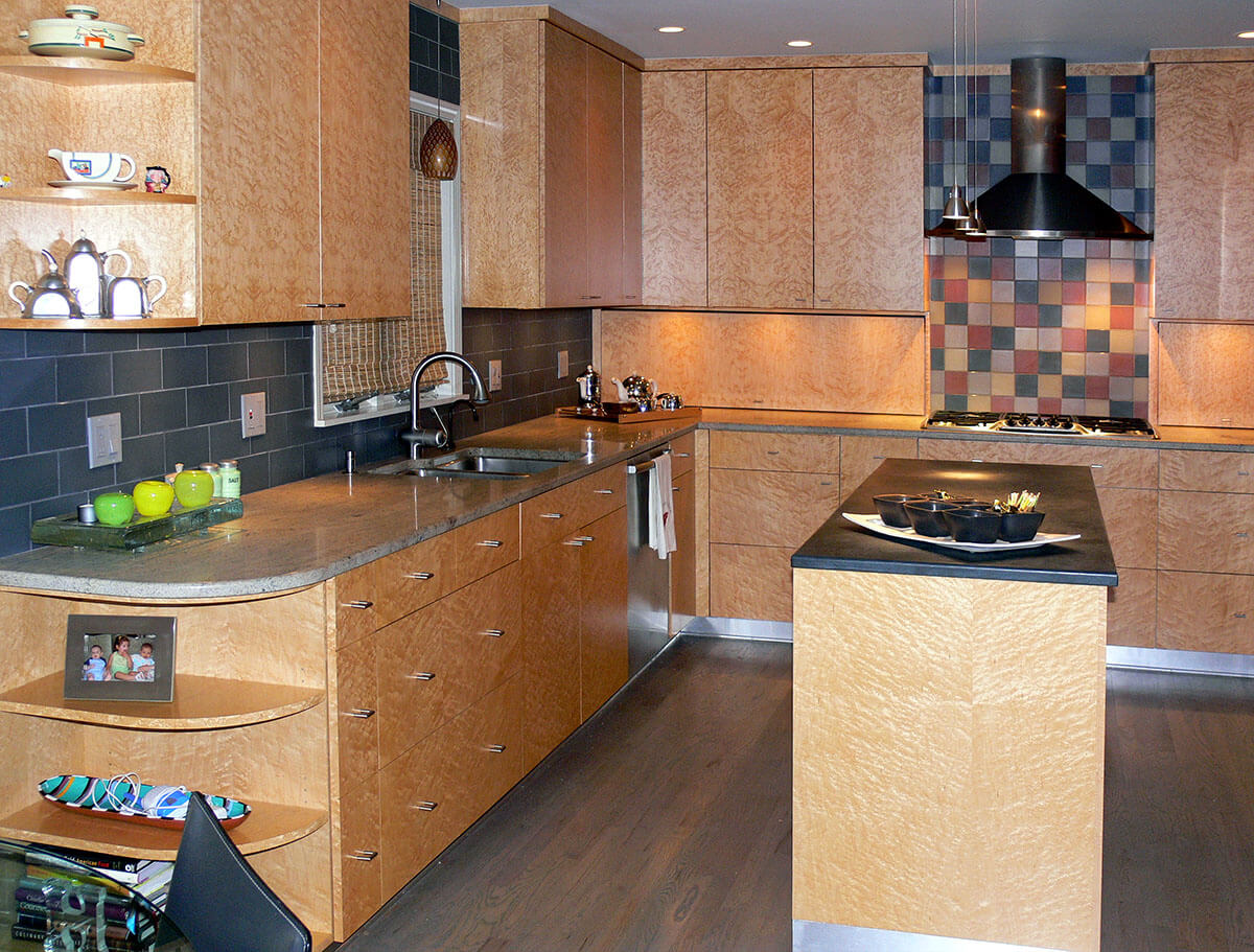 Wood Veneer For Custom Cabinetry And